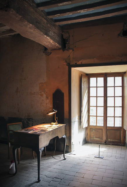 FLAT-WITNESSES exhibition - Abbaye de Beauport, Brittany